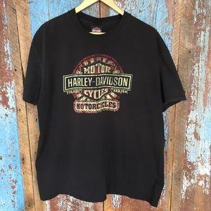 Harley Davidson Black Z&M Greensburg, PA Tee -2011